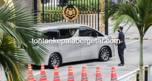 Zahid at Istana Negara for audience with King